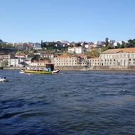 River douro in Porto Portugal
