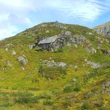Panorama from Moysalen National Park Norway
