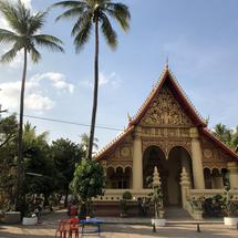Wat Chanthaboury a buddhist temple in Vientiane, Laos