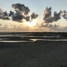 Sunset at Terschelling The Netherlands