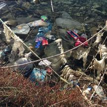 Plastic in the sea of Greece Europe