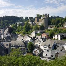 Timber frame houses in Monschau, Germany
