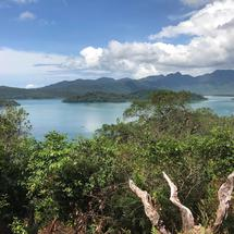 Landscape from small islands around Koh Chang Thailand