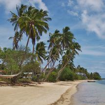 Beach at Umuna Island Tonga
