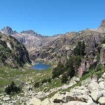 One of the many lakes (and rocks!) that can be found in Aigüestortes national park, Catalonia, Spain.