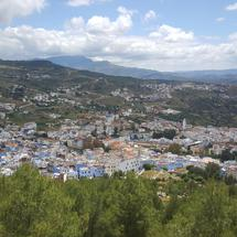 Chefchaouen a city in the Rif Mountains of northwest Morocco