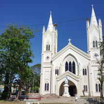 Plaza Cuartel and the Cathedral, Puerto Princesa