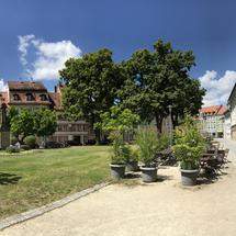 Thet Schillerplatz in Bamberg Germany