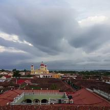 Skyline with Cathedral of Granada, Nicaragua