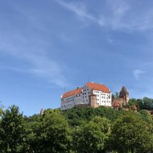 Trausnitz Castle in Landshut Germany