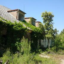 Old empty house in country side Pula, Croatia