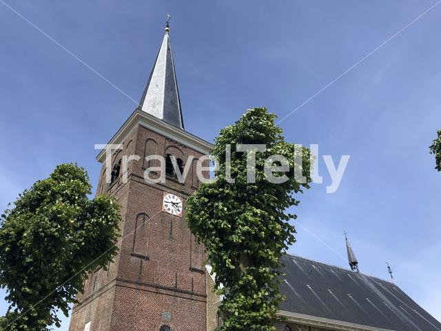 Church in Easterlittens, Friesland The Netherlands