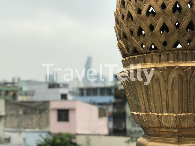 Golden object at the Wat Trai Mit Golden Buddha Temple
