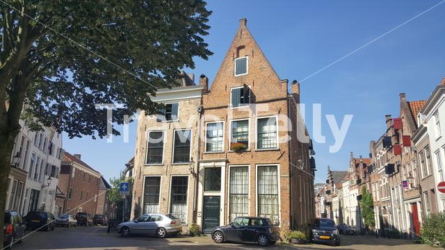 Traditional Dutch house in Deventer The Netherlands