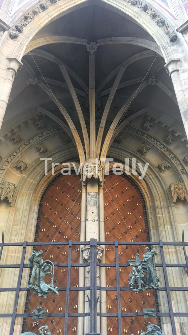 Doorway Arc of Prague castle