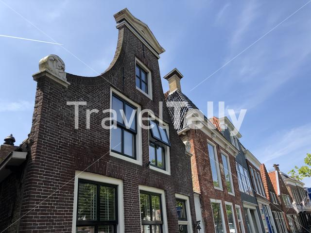 Architecture in Harlingen, Friesland The Netherlands