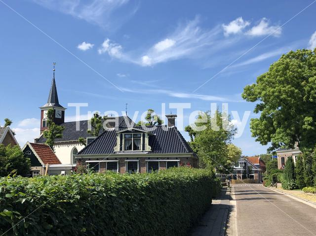 The town Lollum, Friesland, The Netherlands