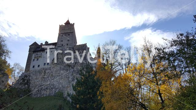 The Bran castle in Romania