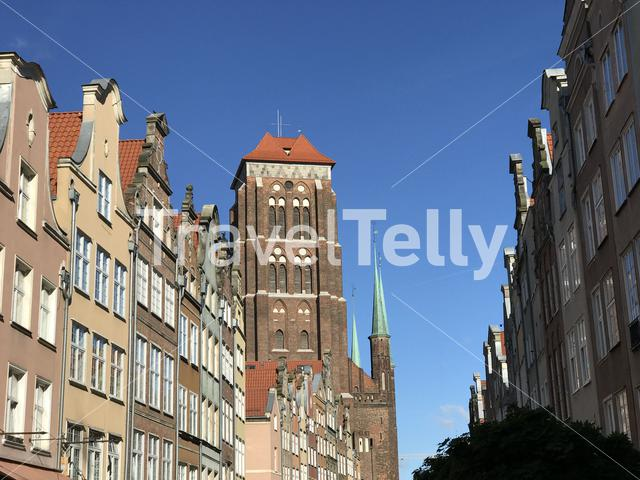 Basilica of St. Mary of the Assumption of the Blessed Virgin Mary in Gdansk Poland