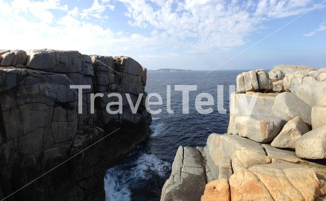 The Gap a stone formation in Torndirrup National Park Albany Western Australia