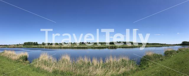 Panorama from the Old IJssel, Gelderland, The Netherlands