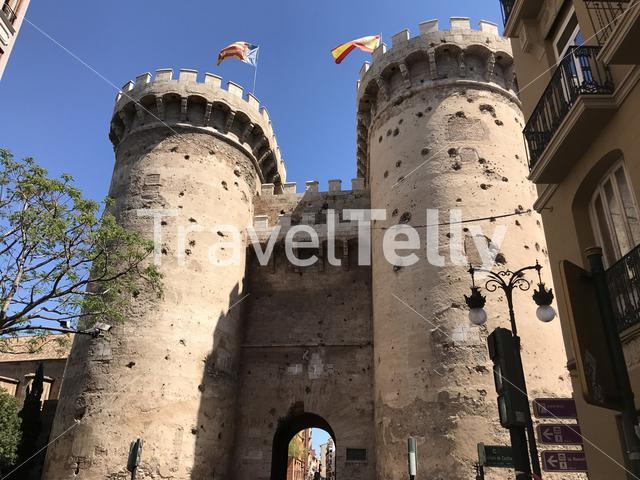 The Quart Towers in Valencia Spain