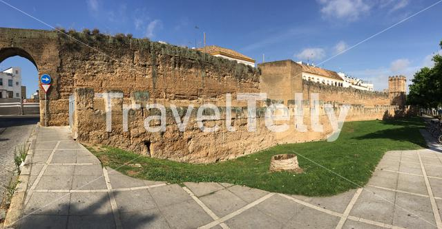 Panorama from the Walls of Seville Spain