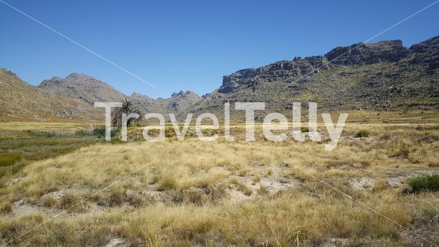 Scenery at Cederberg Wilderness Area in South Africa
