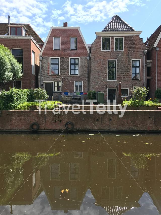 Houses in Appingedam Groningen The Netherlands