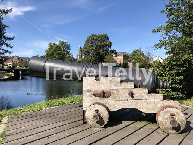 Cannon in Groenlo, The Netherlands