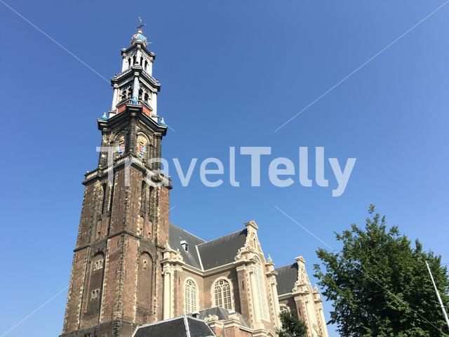 Westertoren in Amsterdam The Netherlands