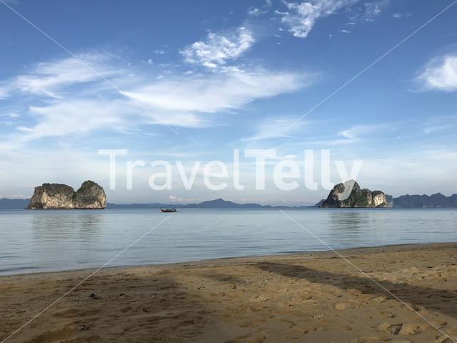 Koh ma island seen from Koh Ngai in Thailand