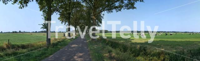 Panorama from around Luttenberg, Overijssel The Netherlands