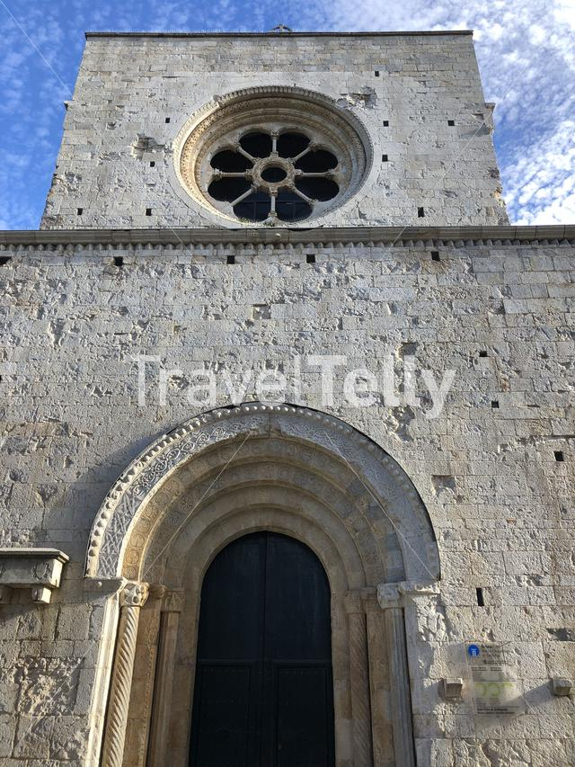 Sant Pere de Galligants Monastery in Girona, Spain