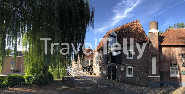 Panorama from the old town of Borculo, The Netherlands