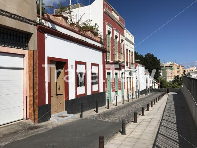 Street in the old town of Las Palmas Gran Canaria