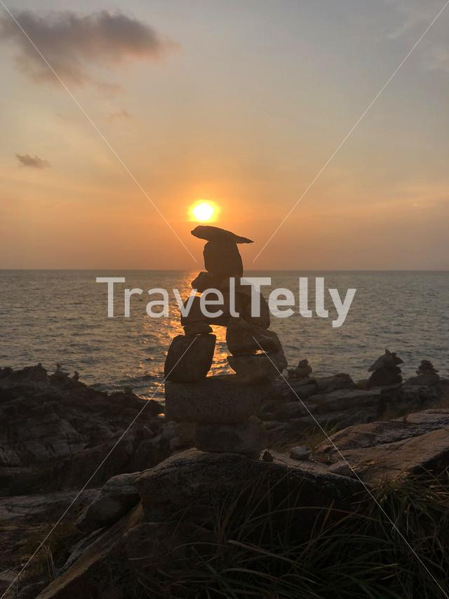 Sunset at Koh Samed Thailand