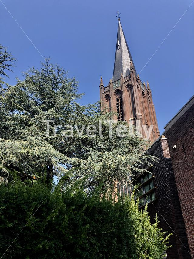 Basilica of the Holy Cross in Raalte, Overijssel The Netherlands