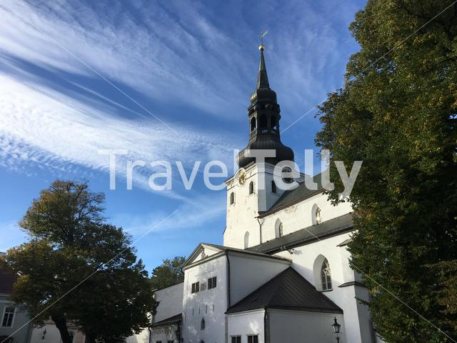 St Mary's Cathedral in Tallinn Estonia