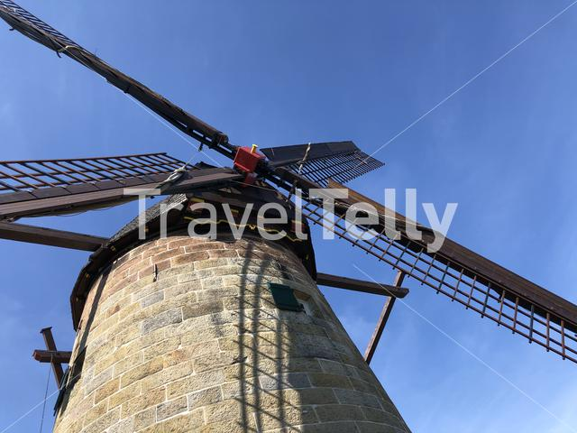 Close up from the windmill in Uelsen, Germany