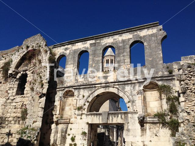 Cathedral of Saint Duje in Split Croatia