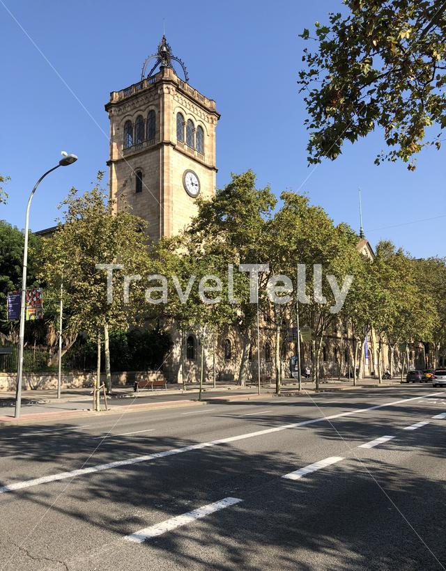 Tower of the university of barcelona, Spain