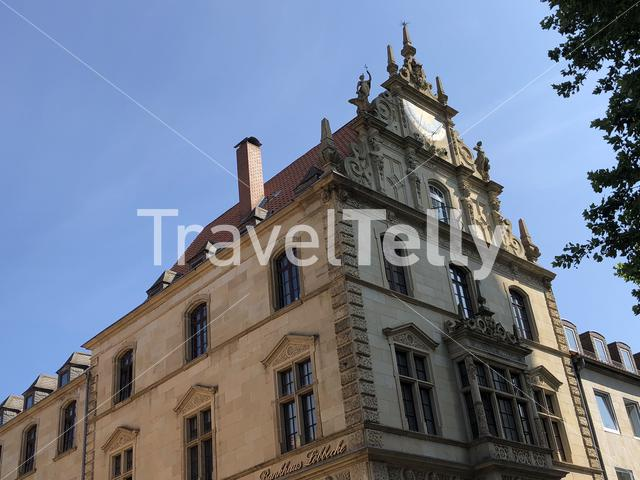 Architecture in the old town of  Braunschweig, Germany