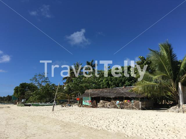 Anda beach in the morning in Bohol Island the Philippines