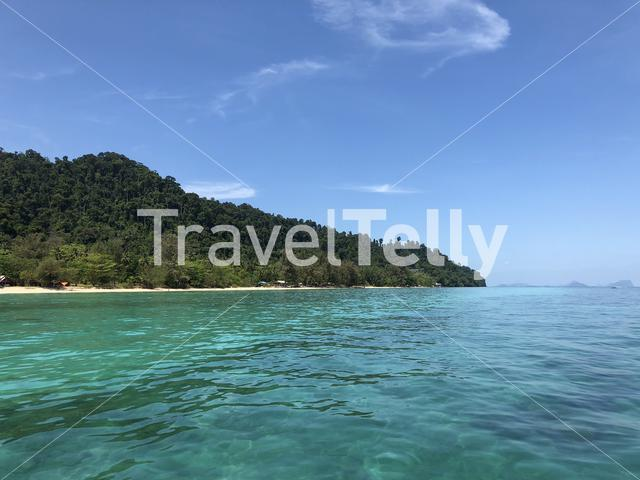 Koh Ngai island in Thailand