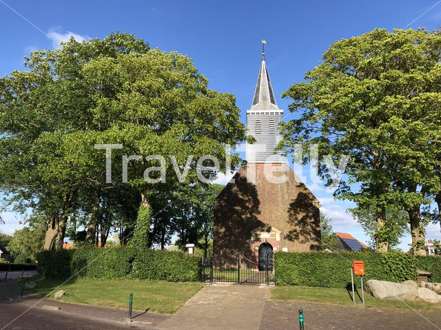 Church in Tjerkgaast, Friesland, The Netherlands