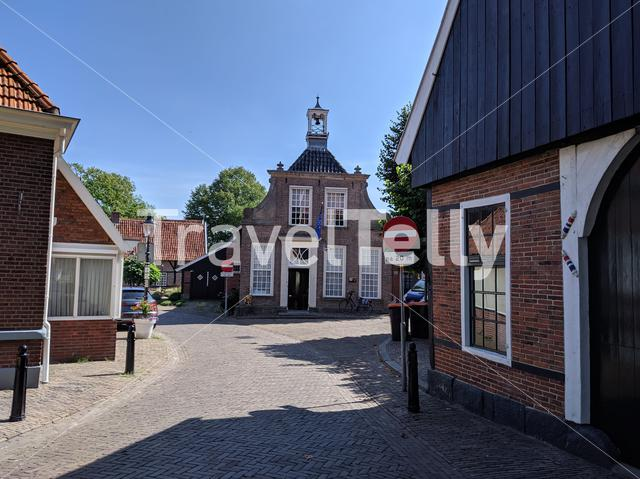 The old town of Ootmarsum, The Netherlands