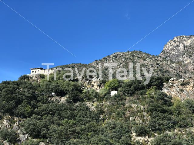 House in the mountains around Sant Julia de Loria in Andorra