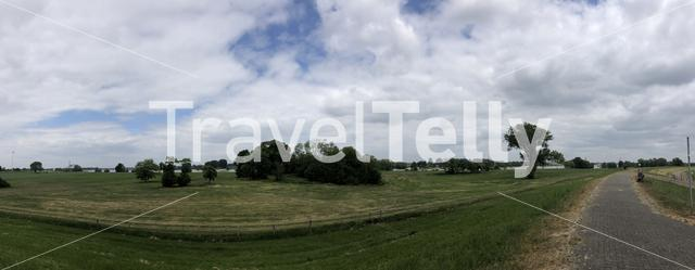 Panoramic from around Muhlenfeld in Germany