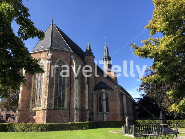 The old Calixtus church in Groenlo, The Netherlands